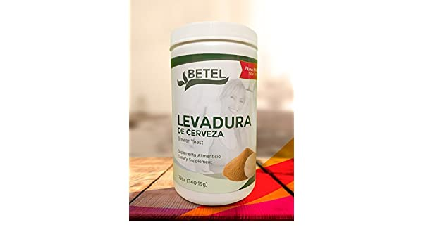 Amazon.com: Levadura de Cerveza 12 Oz. - Brewers Yeast Powder 12 Oz. by Betel Natural: Health & Personal Care