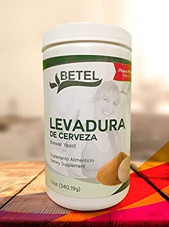 Levadura de Cerveza 12 Oz. - Brewers Yeast Powder 12 Oz. by Betel Natural