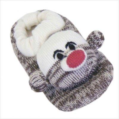 Mukluks Kids Sock Monkey Slippers (Size 3 (M) Kids 13-3, ...