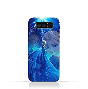 Samsung Galaxy Note 8 TPU Protective Silicone Case with Frozen Elsa Design