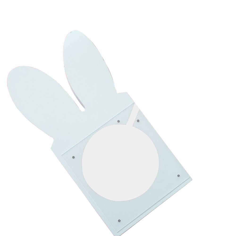 ADbox Piggy Bank Coin Storage, Money Box Rabbit Ears Gifts for Children Friends, Also Ornaments for Room Decorations,White by ADbox
