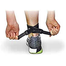 CROSSTRAP Achilles Strap | for Tendonitis Prevention in Running, Cycling, Hiking and Outdoor Fitness by MDUB Athletics