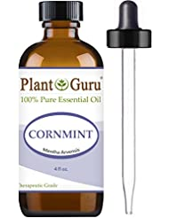 Cornmint Essential Oil 4 oz. (Japanese Peppermint) 100% Pure Undiluted Therapeutic Grade.