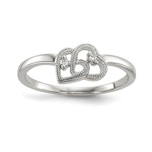 chocolate diamond infinity ring - 2