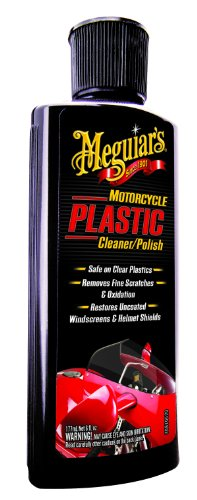 Meguiar's MC20506 Motorcycle Plastic Cleaner/Polish - 6 oz. (Best Motorcycle Cleaner And Polish)