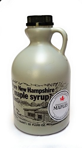 Granite State Maples 32Fl Oz.(1 Quart) Pure New Hampshire Maple Syrup, Grade A by Granite State Maples (Image #1)