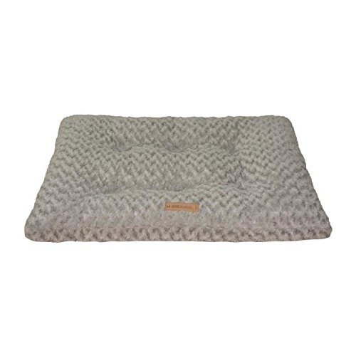 M PETS Shetland L Rectangular Dog Cushion 104 x 69 cm Grey