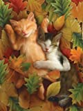Autumn Nap 1000pc Jigsaw Puzzle by Tom Wood