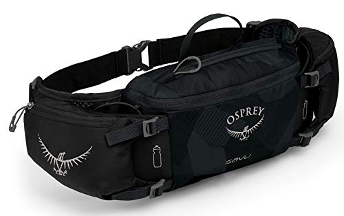 Osprey Packs Savu Lumbar Hydration Pack, Obsidian Black