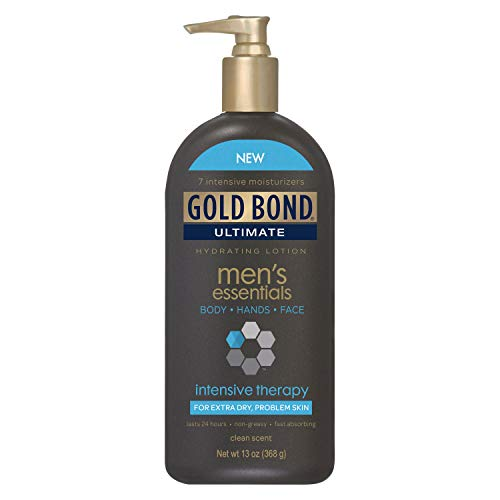 Gold Bond Ultimate Men s Essentials Intensive Therapy Hydrating Lotion 13 oz Pack of 2