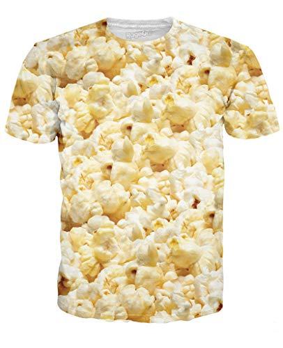 RageOn Classics Popcorn Premium All Over Print T-Shirt ()