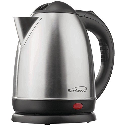 Brentwood KT-1780 Stainless Steel Electric Cordless Tea Ket