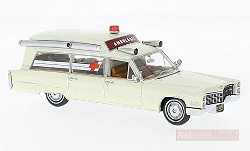 NEO SCALE MODELS NEO43895 CADILLAC S&S AMBULANCE WHITE for sale  Delivered anywhere in USA