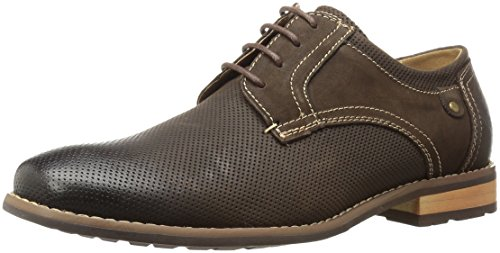 Steve Madden Mens Cherp Oxford Brown Nubuck