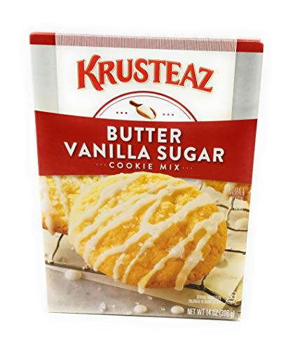 Krusteaz Bakery Style Cookie Mix, Butter Vanilla Sugar, 14 Ounce (Pack of 4) -