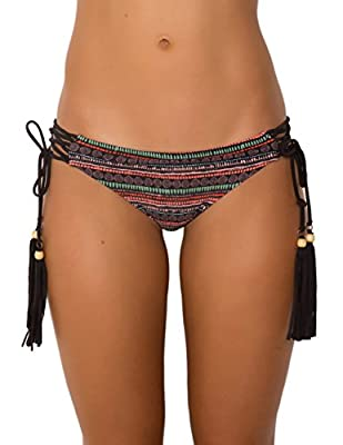 Sheridyn Swim Women's Lattice Tie Side Bikini Bottom
