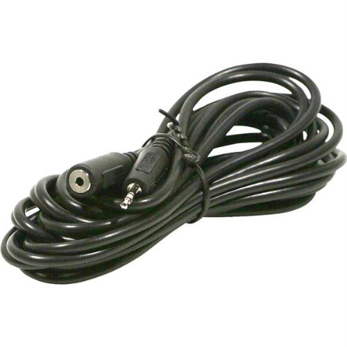 Steren 12 feet 2.5mm Male To 2.5mm Female Extension Cable - Stereo.