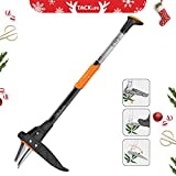 TACKLIFE Weeder Tool, Innovative Automatic Spring Device 39-Inch Stand-up Weeder, Heavy Duty Efficient 3-Claw Stainless Steel and High Strength Foot Pedal, Ideal for Permanently Removing Dandelions