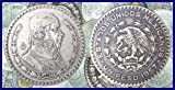 1957 Mexican Silver Peso -- Silver Dollar Sized Coin -- Very Fine