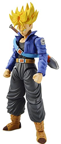 Bandai Hobby Figure-Rise Standard Super Saiyan Trunks Dragon Ball Z Model Kit - Dragon Figure Model Kit