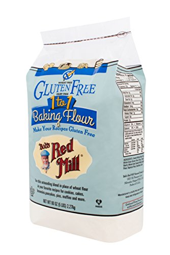 Make an Easy Recipe for Corn Fritters with Ham with Bob's Red Mill Gluten Free 1-to-1 Baking Flour, 5 Pound