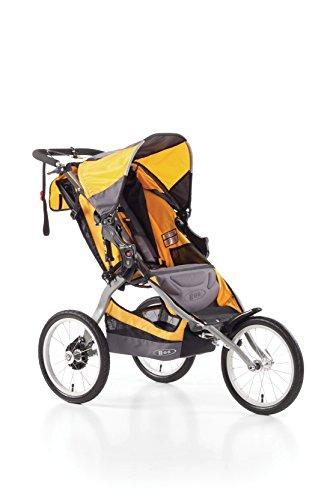 BOB Ironman - Cochecito todoterreno de 3 ruedas, color gris y naranja: Amazon.es: Bebé