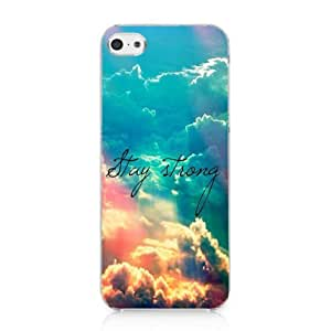 meilz aiaiStay Strong Cute Life Quote Galaxy Nebula Case Hard Cover for Iphone 5c 2013 Newmeilz aiai