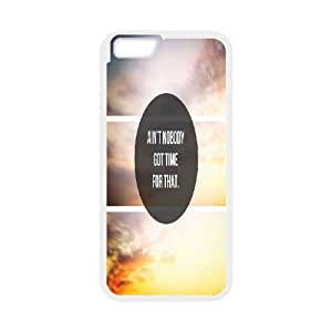 """Diy Ain't Nobody Got Time For That Case Cover, DIY Protective Cover Case for iPhone6 4.7"""" Ain't Nobody Got Time For That"""
