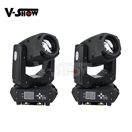 V-Show 2PACKS 200w led beam and spot moving head light with zoom