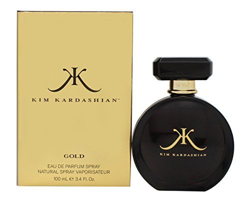 Celebrity Fragrances Kim Kardashian Gold 3.4 oz. Fragrance - N/A - Kim Kardashian Gold Perfume