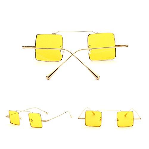C5 para JAGENIE C4 mujer Gafas sol de hombre y espejo diseño vintage de XgOgqxwP4