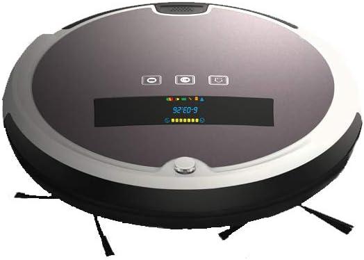 Robot super silencioso Control remoto Aspirador anti-caída Sensor de colisión Dos succiones Indicadores de voz Autocarga: Amazon.es: Hogar