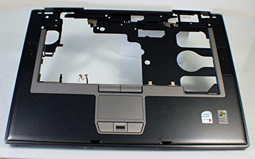 NEW Genuine OEM DELL Latitude D820 Laptop Palmrest Keyboard Bezel Touchpad Fringerprint Biometric Reader Mouse Button Trackpad Trak Pad GF656 w/ Speakers Upper Cover - Palmrest Touchpad Speakers