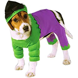 Rubies Costume Company Marvel Classic/Marvel Universe The Hulk Pet Costume, Medium