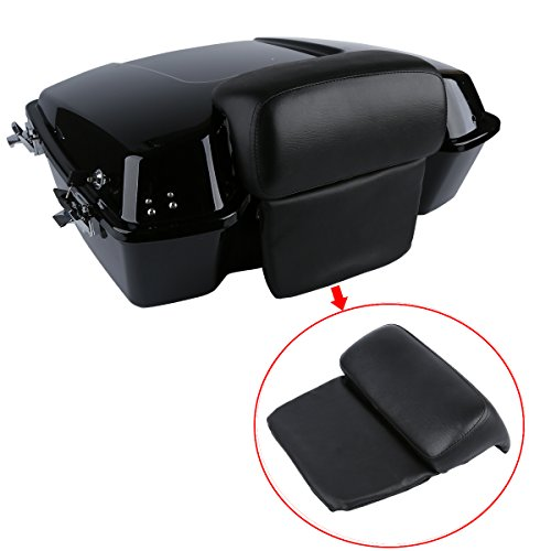 XMT-MOTO Chopped Razor Tour-Pak Backrest Pillow Pad For Fits Harley Road King Glide FLHR 1997-2013 - Tour Pak Backrest Pad