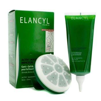 Galenic Activ Slimming Massage kit: Glove + Slimming Shower Gel 200ml/6.7oz 2pcs