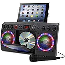 Akai KS303B-BT Bluetooth CD&G Karaoke System, Black