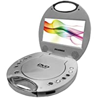 Sylvania SDVD7046-SILVER 7-Inch Portable DVD Player (Certified Refurbished)