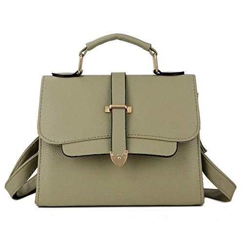 Vert Cabina à Sac Cuir La Petit Crossbody Main Bandoulière Sac en Bandoulière PU Fille Top Bag Handbags Femmes à qpwUdPSw