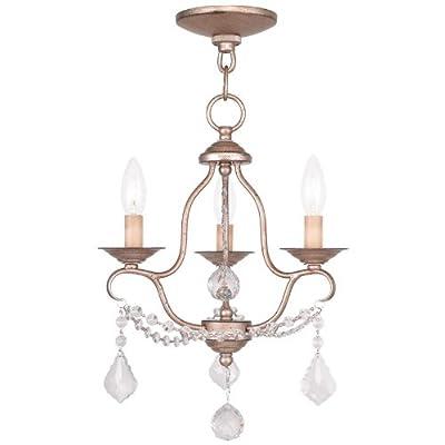 Livex Lighting 6515-71 Pennington 5 Light Chandelier, Hand Applied Venetian Golden Bronze