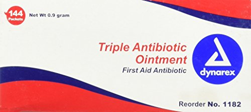 Dynarex Triple Antibiotic Ointment, 0.9g packets, Box/144