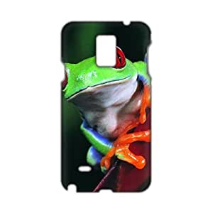 Angl 3D Cuwte Colorful Frog Phone For SamSung Galaxy S6 Case Cover