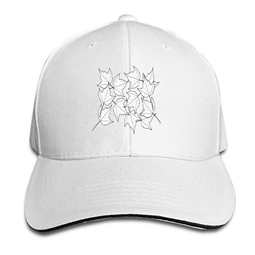 Fitch Forster Maple Fall Leaves Foliage Greenery Baseball Cap Dad Hat Low Profile Adjustable for Men Women