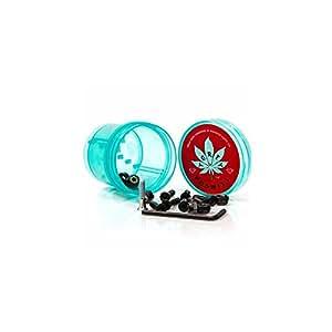 "Tornillos Diamond: Hella Tight Hardware Torey Pudwill 7/8"" W Cannabis Grinder Blue"