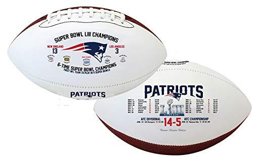 New England Patriots Souvenir Footballs Super Bowl LIII Souvenir Footballs Patriots Super Bowl Souvenir Footballs
