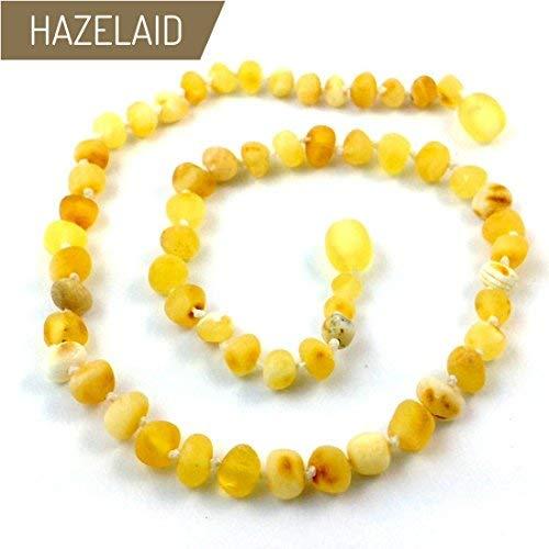 Hazelaid (TM) 18'' Baltic Amber Super Butter Necklace - Twist Clasp by HAZELAID