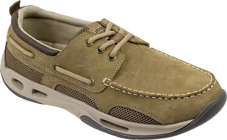 Rugged Shark Men's Tidalwave Boat Shoe,Tan Oiled