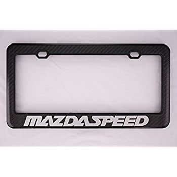 Amazon Com Mazdaspeed License Plate Frame Automotive