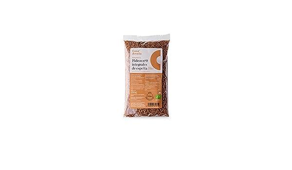 Casa Amella, Fideos Integrales de Espelta Ecológicos - 12 de 250gr: Amazon.es: Alimentación y bebidas