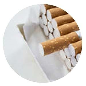 alfombrilla de ratón Paquete de cigarrillos - ronda - 20cm